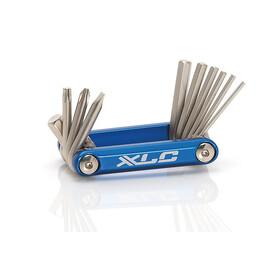 XLC TO-M06  Bike Tool 10 pieces blue